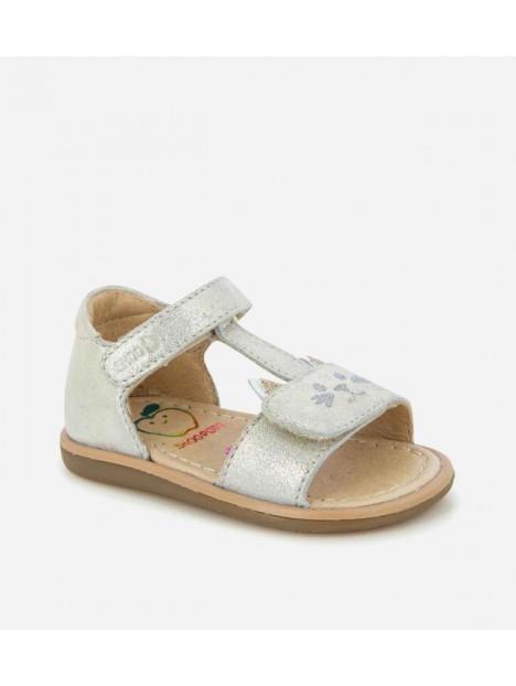 Sandale Tity Miaou Platine scratch