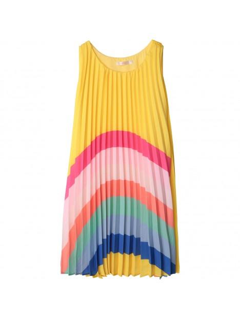 Robe Rainbow jaune