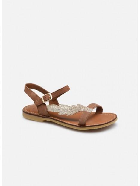 Sandale Lazar Feather Biscuit/Platine