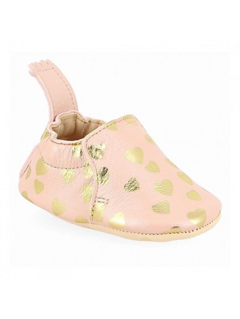 Chaussons Blumoo cuir Lovely Rose